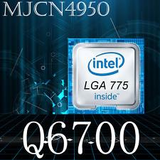 Intel Core 2 Quad Q6700 2.66 GHz Procesador de 4 núcleos 8M 1066 LGA775 CPU de actualización