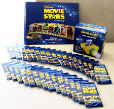 WOOLWORTHS Disney Movie Stars - Book + YELLOW Projector + 31 cards UNOPENED
