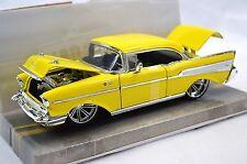 "1957 Chevy Bel Air ""CUSTOM"" 1:24 Scale Diecast Model"
