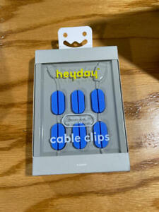heyday Cable Mangement Pill Cable Clip 6pk - Blue