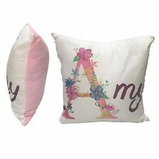 """PERSONALISED LARGE SOFT CUSHION COVER ANY IMAGE 40cm x 40cm (16""""x16"""")"""