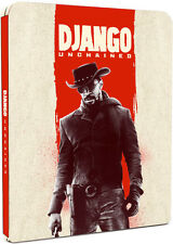 Django Unchained UK Limited Edition  Steelbook Region Free Blu Ray  Pre-Order!!!