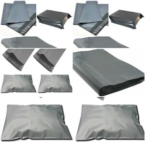 15 x 18 Grey mailing bags Strong,Self-Seal Tape,Graded-Material Same-Day P&P UK