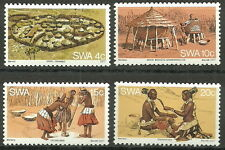 Südwestafrika - Leben und Tradition der Wambos postfrisch 1979 Mi.Nr.431-434