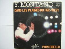 YVES MONTAND 45 TOURS FRANCE IN ENGLISH