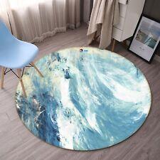3D Abstract Ocean 89 Non Slip Rug Room Mat Round Quality Elegant Photo Carpet UK