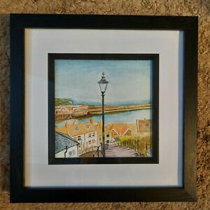 Whitby Watercolour Painting