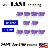 3A automotive fuse - 3A blade fuse - medium fuse BULK 3 AMP fuse