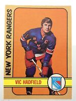 1972-73 Vic Hadfield New York Rangers 31 OPC O-Pee-Chee Hockey Card N901