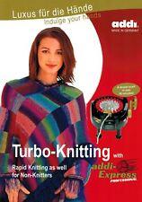 Knitting with addi-Express Professional - addi Pattern Book