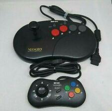 Neo Geo Joystick Controller PRO Arcade Stick + Neo Geo CD Controller Set SNK