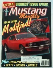 MUSTANG MONTHLY 1990 MAY - MODIFIEDS, GT500, WEBERS