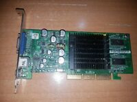 Asus nvidia Geforce FX5200 128MB DDR AGP PC Video Card V9520MAGIC/T/P /128M/