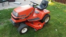"""Kubota G1800 Garden Tractor DIESEL Engine 48"""" cutting deck HST LOW hours mower"""