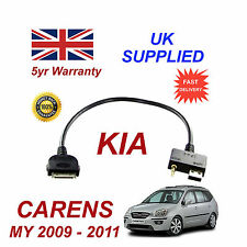 For KIA Carens iPhone 3gs 4 4s & most iPod USB & Aux Audio Cable MY 2009 - 2011