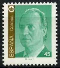 España 1993-2000 SG#3234, 45p el rey Juan Carlos I estampillada sin montar o nunca montada definitiva #D64431
