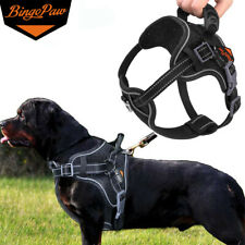 Adjustable Extra Large Xl Pet Dog Harness Pitbull Walking Vest w/ Pulling Handle