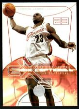 2004-05 Fleer SkyBox E-XL Exceptional Lebron James #2 of 10 Cavaliers