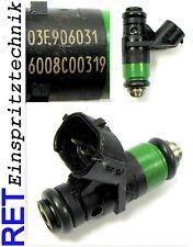 Einspritzdüse 03E906031 VW Polo 9 N 1,2 12 V 6008C00319 gereinigt & geprüft