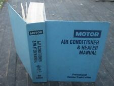 1987  9th Edition Motor Air Conditioner & Heater Manual book
