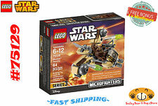 LEGO Star Wars 75129 Wookiee Gunship 84 pcs Ages 6-12 + FREE BONUS **NEW**