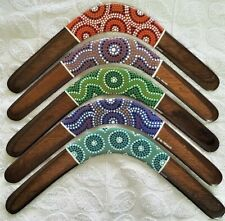 Returning boomerang | Dot art | choose your colour | left/right handed throwing