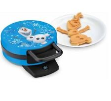 New Disney Frozen Olaf The Snowman Waffle Maker 800 Watts Non Stick Plates!!