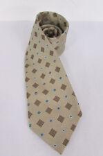 Daniel Milano Men Fashion Classic Dress Suit Neck Tie L. Brown Silk La Foderata