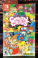 Crystal Crisis - Nintendo Switch - Region Free - Brand New - Sealed