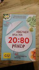 Abnehmen nach dem 20 :80 Prinzip ERNÄHRUNGS-DOC Matthias Riedl