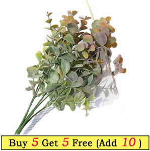Artificial Eucalyptus Stem Leaves Branches  for Party Wedding Home Office Decor