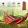 Hammock Bed Swing Hanging Sleeping Tent Outdoor Double Cotton Camping