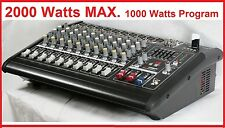 2000Watts 10 Channel Professional Powered Mixer power mixing Amplifier Amp BM228