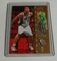 BROOK LOPEZ - 2009/10 UPPER DECK - SIGNATURE COLLECTION - AUTOGRAPH - NETS -