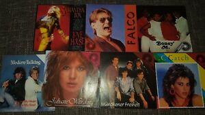 Schallplatten Sammlung Vinyl Singles Intern Rock Pop  80er