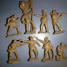 8 Toy Soldiers of San Diego (TSSD) ACW butternut color