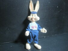"""Antique Vintage Bugs Bunny 6"""" velour Toy - Stands - arms and legs move"""