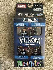Marvel Minimates Venom Through the Ages Box Set Flash Thompson Brock Weying