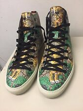 Gucci Bengal Major Tiger Men's GG High Top Sneakers Size 11