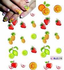 099€/Bogen     2 Bogen Früchte Obst Nagelsticker Nageldesign Weihnachten