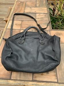 Black leather Henry Beguelin Ladies bag, excellent condition