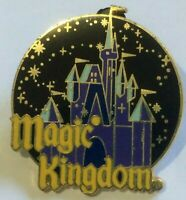 Magic Kingdom booster park Logo disney pin castle fireworks E