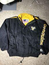 Rare Pittsburgh Penguins Vintage 90s Starter NHL Winter Jacket Mens XL Bomber