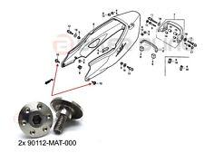 Honda CBR1100XX 1997-2007 2x 90112-MAT-000 stainles steel rear fairing bolts