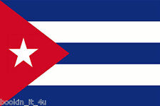 ****CUBA CUBAN VINYL FLAG DECAL / STICKER****