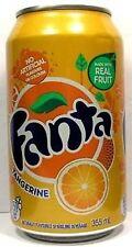 FULL 12oz 355ml Can Canadian Fanta Orange Tangerine French English (Canada 2009)
