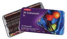 Derwent Coloursoft Matite 36 TIN