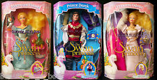 Odette and Friends Doll Prince Derek The Swan Princess Tyco NRFB ~ Lot 3 SW*