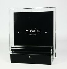 MOVADO MUSEUM DOUBLE SIDED PHOTO & PICTURE FRAME DBK000213M NEW BOX $170.00