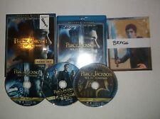 Percy Jackson: Sea of Monsters (Blu-ray/DVD, 3-Disc Set) w/ Motion comic cards